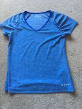 Ladies Matalan Blue Sports T-shirt - Size Small
