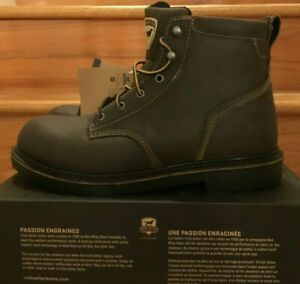 NWT Red Wing Irish Setter Brown Lace Work Boots Men SOFT TOE EH 83639 Farmington