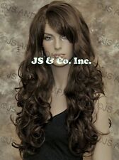 Luscious Layered Long Wavy Chestnut Brown Mix wig WBBW 6-30