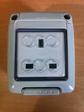 Outdoor Waterproof Single Socket IP66 Gewiss