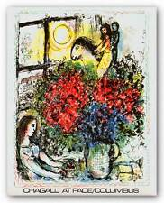 MUSEUM ART PRINT La Chevauchee Marc Chagall