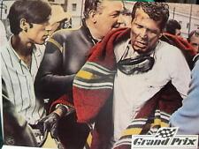 Grand Prix Frankenheimer Original Lobby Card 6 / James Garner / Pete Aron Monaco