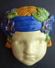 Phoebe Stabler - Ashtead Pottery - Head of a Cherub - Rare - Not Poole Pottery