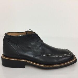 Carlo Botrini Black Leather Comfort Lace Up Oxford Shoe Men Size UK 7 Eur 41