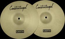 "Constantinopol EARTH HI-HAT 12"" - B20 Bronze - Handmade Turkish Cymbals"
