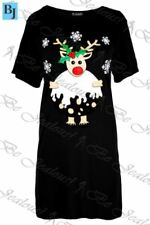 Christmas Shirt Size Plus Dresses for Women