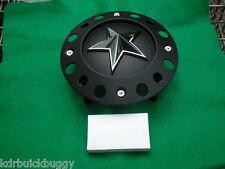 KMC Rockstar Wheels Flat Black Center Cap With Bolts P/N 1000775B