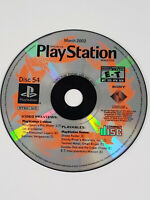 PS1 PlayStation 1 Official U.S. Magazine Issue 54 Demo Disc - Tested