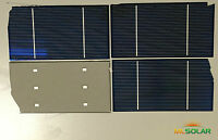 280 Watts Almost Whole 3x6 Solar Cells for DIY Solar Panel Battery Charging 20%
