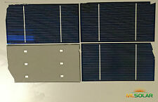 280 Watts Almost Whole 3x6 Solar Cells for DIY Solar Panel Battery Charging