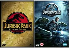 JURASSIC PARK COMPLETE 1-4 DVD Collection Lost World UK Release New Sealed R2