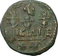 Gordian III Nicaea in Bythinia  Ancient Roman Coin 3 legionary standards  i19302