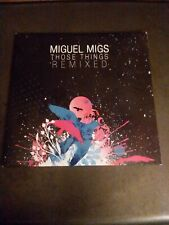 MIGUEL MIGS CD THOSE THINGS REMIXED