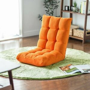 Seating chair reclining compact floor chair living room chair sofa 4 colors