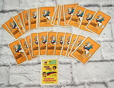 Vintage Playing Card Game The Lone Ranger Mattel 1971 Rules Advertisement Cowboy