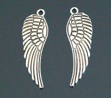 10 20 Tibetan Silver Angel Wings Charms Pendants 48mm TSC33