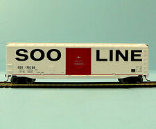 HO Scale Model Railroad Trains Layout Walthers Soo Line Boxcar Rolling Stock