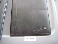 Ping Golf  Portfolio Padded NoteBook   8.5x11 Note Book
