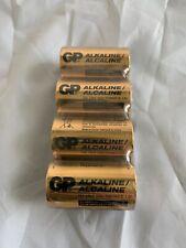 4 PACK GP 1.5 Alkaline Batteries 13A LR20 Size/Format D 1.5v