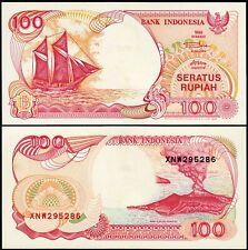 Indonesia 100 Rupiah 1992-1997, REPLACEMENT, 20 Pcs LOT, UNC, P-127f, Sailboat