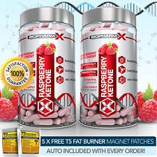 X2 Pure chetone del lampone-più Forte Legale Dieta/Dimagrante & Pillole Bruciagrassi