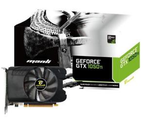 Nvidia GeForce GTX 1050 Ti 4GB Dual Slot Grafikkarte Single Fan DVI HDMI DP