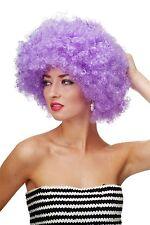 Perücke Afroperücke Afro 70er Jahre Party Funky Disco Foxy Violett PW0011-P08