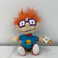 "2017 Nickelodeon RUGRATS 8"" Plush CHUCKIE FINSTER Boy Doll Stuffed Toy NWT"