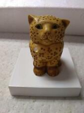 "Pot Bellys Small Cat Trinket box ""Opal"""