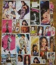 19 Starkarte + 25 Sticker + 1 PIN  __  Rihanna __  Collection / Sammlung