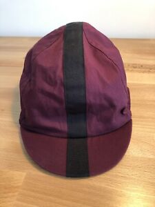 Rapha Cycling Classic Cap, Maroon, Size M/L, Excellent Condition