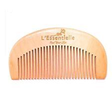 Beard And Hair Comb 100% Natural Wood