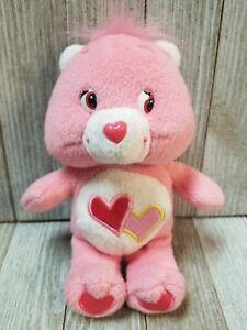 "Care Bear Musical 7"" Plush Stuffed Animal Toy Pink - B75"
