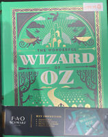 FAO Schwarz The Wonderful Wizard Of Oz by L. Frank Baum Hardcover Book Set New