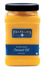 Butter Flavored Coconut Oil by Franklins Gourmet Popcorn. 30 oz Tub.
