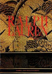 Ralph Lauren Home Collection Original Magazine Print Ad Vintage 2pg 2011