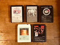 Queen 8 Track Tape Lot of 5 - Night at Opera, Game, Jazz, Live Killers, Sheer