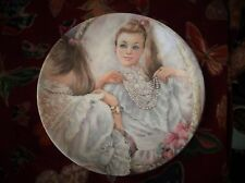 WEDGWOOD QUEENS WARE DISPLAY PLATE LIMITED EDITION MARY VICKERS THE PEARLS