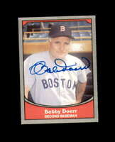 Bobby Doerr Hand Signed 1990 Pacific Baseball Legends Boston Red Sox Autograph