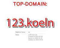 Top- Domain 123.koeln