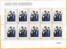 Ned2563-Ac-2  Nostalgie in postzegels de jaren 70 Ard en Keessie - schaatsiconen