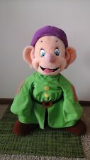 Vintage Must See Disney Dopey Snow White & the Seven Dwarfs Plush Stuffed Large