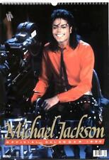 MICHAEL JACKSON 1990 OFFICIAL TRIUMPH INTERNATIONAL calendar, new,  unused