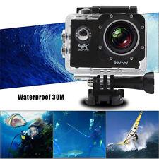 WiFi 4K Ultra HD 2.0'' LCD Sports Action 30 Waterproof Mini DV Camera for SJ8000