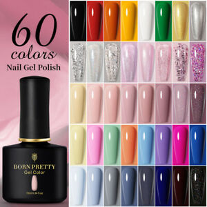 10ml BORN PRETTY Soak Off UV Gel Nail Polish Glitter Sequins Nail Art Varnish