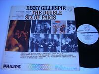 PROMO Dizzy Gillespie & the Double Six of Paris 1963 Mono LP