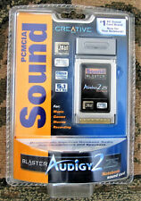 SOUND BLASTER AUDIGY 2 ZS NOTEBOOK LAPTOP 24-BIT ADVANCED HD PCMCIA SOUND CARD