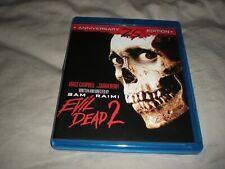 Evil Dead 2: Dead by Dawn (Blu-ray Disc, 25th Anniversary Edition) 1987, Horror