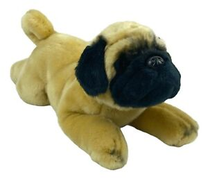 Russ Yomiko Classics Pug Dog Plush Stuffed Animal Realistic Puppy Soft Cute Toy