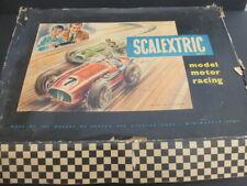 Scalextric 1957 conjunto de MM1, coches en gran condición y parece completa